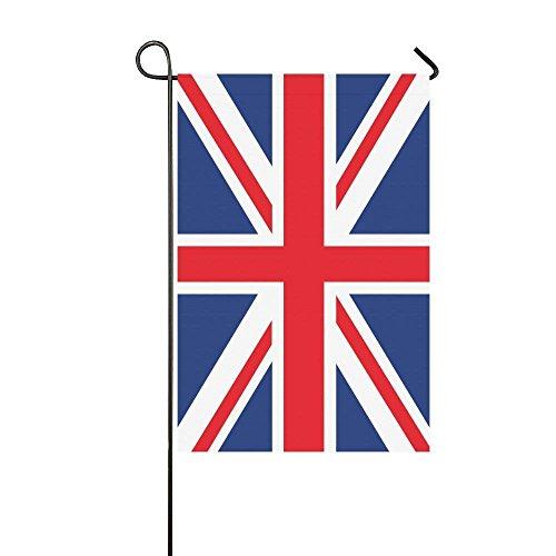 WAZZIT Union Jack Long Polyester Garden Flag 12 x 18 inch Ho