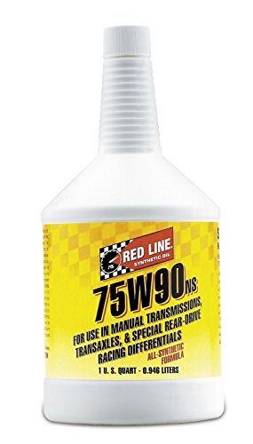 1974 Porsche 911 Oil - Red Line 58304 (75W90) Non-Limited Slip Synthetic Gear Oil - 1 Quart (Pack of 6)