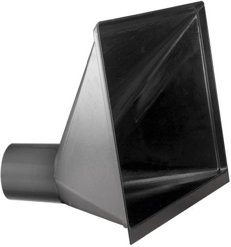 Woodtek 120053, Dust Collection, Plastic Hose & Fittings, Oversize Dust Hood 10