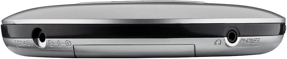 Grundig CDP 6600 Portable CD Player Azul Unidad de CD MP3,WMA, CD de Audio, Portable CD Player, Azul, Plata, LCD, 3,5 mm Plata