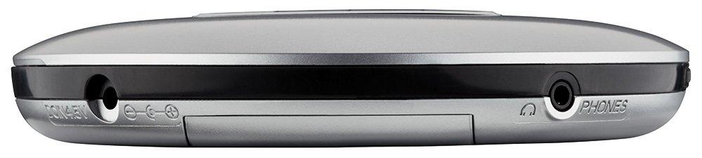 Grundig CDP 6600 Tragbarer CD-Player silber//schwarz