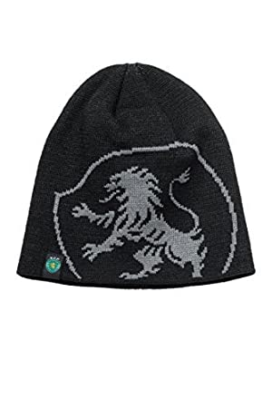 da3471fadea Official SPORTING LISBON black crest beanie hat cap SCP by FI collection   Amazon.co.uk  Sports   Outdoors
