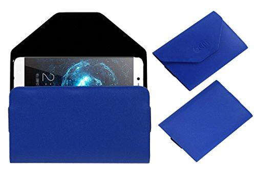 Acm Pouch Case Compatible with Leeco Letv Le 2 Pro Flip Flap Cover Blue