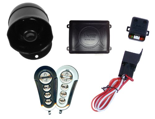 Excalibur EXCAL500+ Vehicle Alarm System with Immobilizer Mode and Keyless (Immobilizer Anti Theft System)