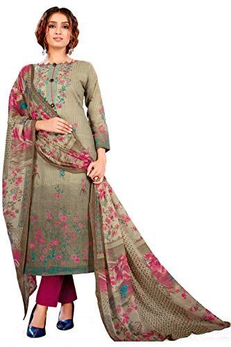 Sitara fashion Cotton Floral Print Salwar Suit Material  Unstitched