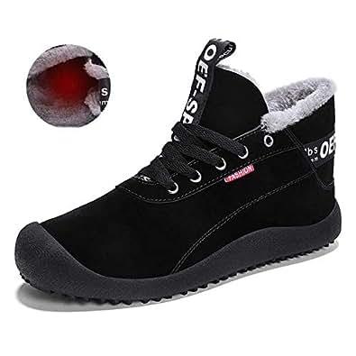 Amazon.com   MARITONY Winter Boots Ankle for Men, Snow