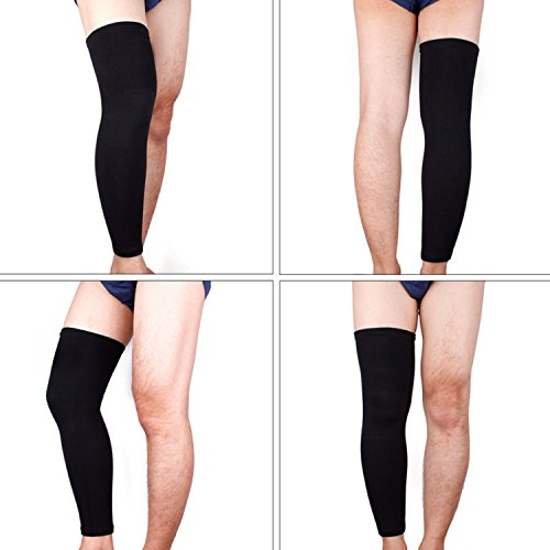 2 Pcs Elastic Basketball Knee Pad Support Brace Sleeve Sports Safety Hard To Fall Off.fits For Various Activities.
