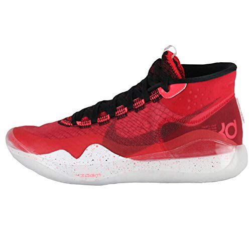 Nike Zoom KD 12 Basketball Shoes (8, University Red/Black/White)