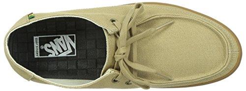 Vans Rata Vulc VJXM394 - Zapatillas de deporte de tela para hombre - (rasta) khaki/g