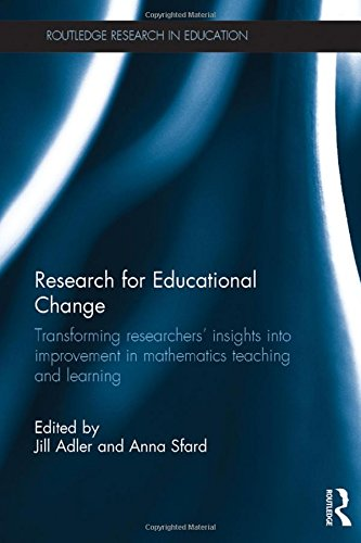 Research for Educational Change: Transforming researchers