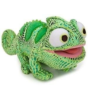 Disney Tangled Pascal the Chameleon Mini Bean Bag Plush - Green by Disney