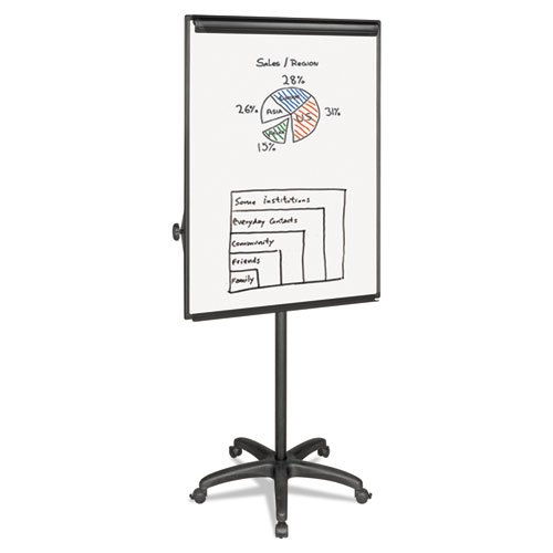 BVCEA4800055 - MasterVision Mobile Presentation Easel by MasterVision