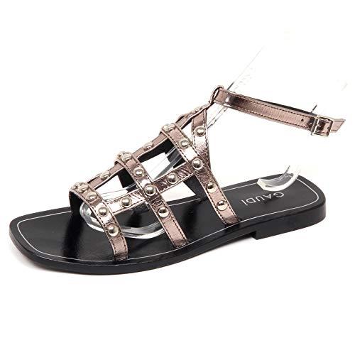 Pewter Peltro Borchie Shoe Scarpe Sandalo Donna Woman Sabot Gaudi E9538 AnH4FF
