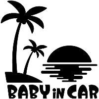 Sticker Shop Haru BABY IN CAR ステッカー ハワイ サンセット ブラック