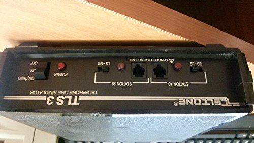 (USED TELTONE TLS-3 TELEPHONE LINE SIMULATOR 250-00137-02,201-00889-03,BOXZG)