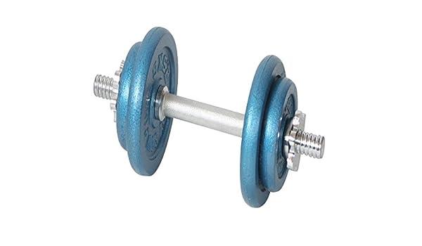 ... azul deportes SPINLOCK juego de mancuernas cuerpo tonificación aeróbica BICEPS entrenamiento fuerza pesas de mano con estuche 10 kg gimnasio en casa ...