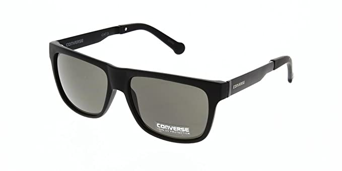 a3b15e1110cc Converse Sunglasses H021 Matte Black 55  Amazon.co.uk  Clothing