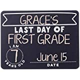Kate & Milo Reversible First and Last Day of School Chalkboard Card Set