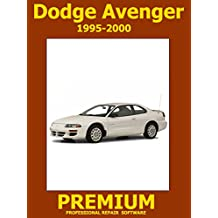 Dodge Avenger Repair Software (DVD) 1995 1996 1997 1998 1999 2000