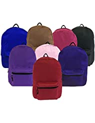 Wholesale 15 Backpack in Assorted Colors - Case of 24
