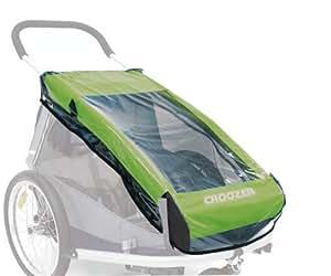 Croozer - Cubierta impermeable para remolques infantiles de 2 plazas para bicicletas