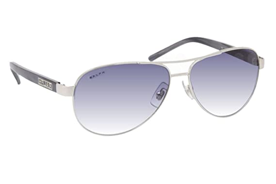 a69c83bb0 Image Unavailable. Image not available for. Colour: Ralph 4004 102/19 Silver  4004 Aviator Sunglasses ...