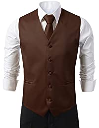 Amazon.com: Brown - Vests / Suits & Sport Coats: Clothing, Shoes