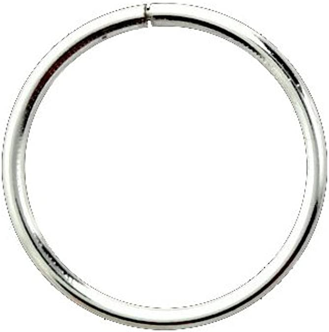 Amazon Com 925 Sterling Silver Nose Ring Seamless 1 4 6 4mm
