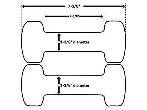 Primozu FIT Neoprene Dumbbells (SETS, PAIRS & SINGLES)