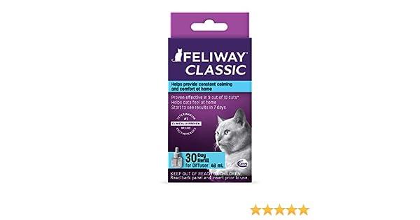 Feliway Calming Diffuser Refill for Cats 48 mL: Amazon.es: Productos para mascotas