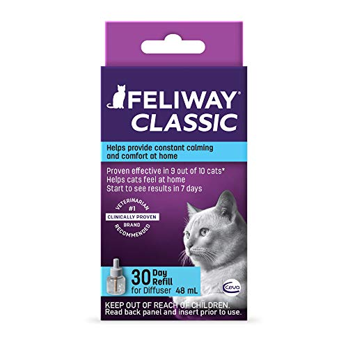 Feliway Classic Diffuser Refill for Cats | Constant Calming & Comfort At Home ()