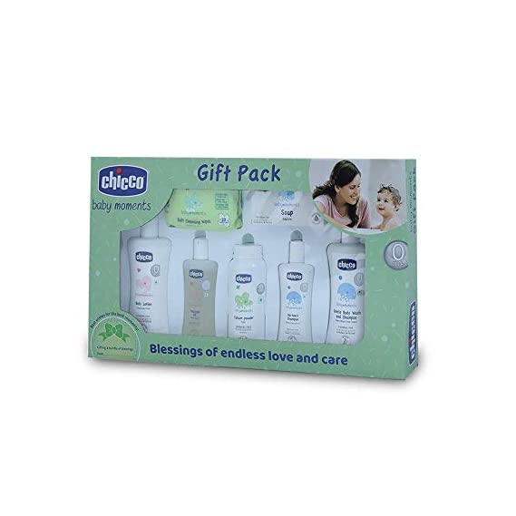 Chicco Complete Care Gift Set-Green
