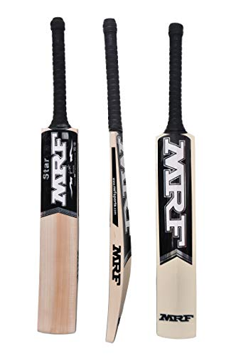 MRF English Willow Cricket BAT Star with Cricket Back Pack: mrf genius grand edition virat kohli english willow cricket bat NO. 1 Cricket Bat