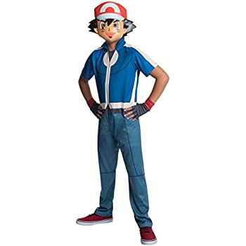 Rubie's Costume Pokemon Ash Child Costume, Medium