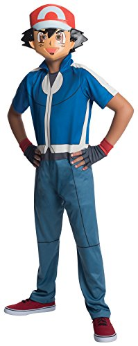 Pokemon Halloween Costumes Children's (Rubie's Costume Pokemon Ash Child Costume,)