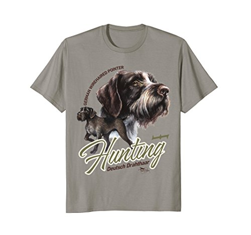 T-shirt German Wirehaired Pointer Hunting Dog GWP