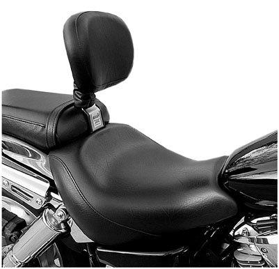 Bakup Height-Only Adjustable Standard Driver Backrests for 2005-2007 Honda VT75 - One ()