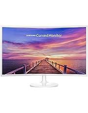 Samsung C32F391 80 cm (32 inch) gebogen monitor, wit Single 32 Inch HDMI, Displayport wit