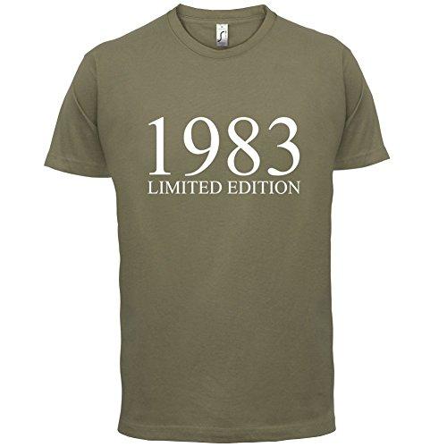 1983 Limierte Auflage / Limited Edition - 34. Geburtstag - Herren T-Shirt - Khaki - S