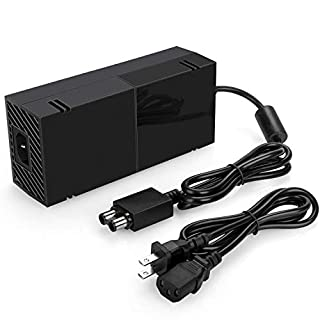 Uowlbear Replacement Power Supply AC Adapter Brick with Power Cord for Xbox One