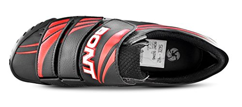 Bont MTB-Two Zapatillas de Ciclismo Negro/Rojo Talla 40