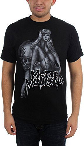 Metal Mulisha Men's Pin Down T-Shirt, Black, Large