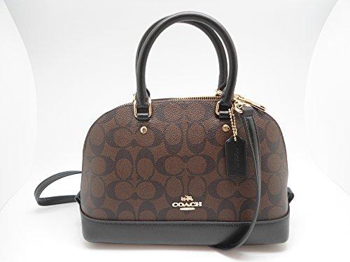 Coach Satchel Signature Crossbody Handbag