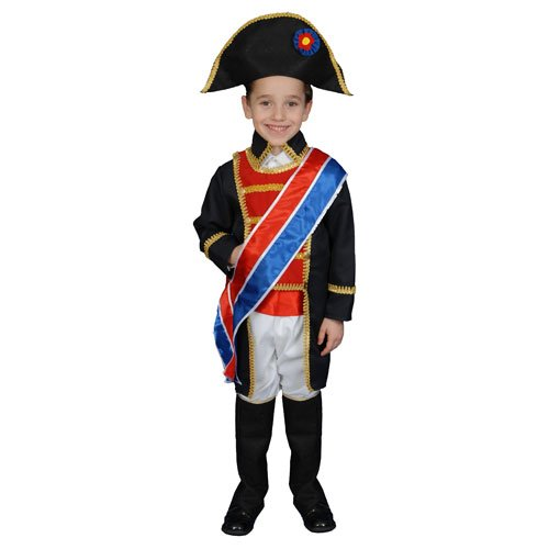 Dress Up America Napoleon Costume Set - Medium 8-10]()