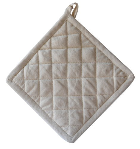 Natural Home Decor Organic Cotton Hot Pad, 2-Pack