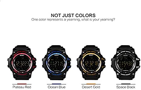 LCLrute Mode Deportes Impermeable Smart Bluetooth Reloj Digital Sport Smart Relojes Bluetooth 4.0 Fitness Tracker ...