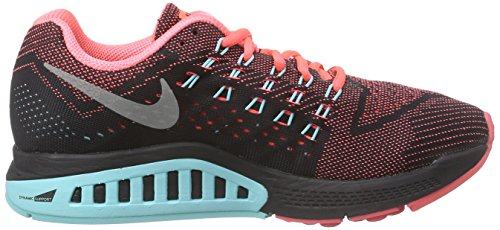 Slvr Running Structure Aq Nikezoom Nike blk Donna Scarpe 18 lght Rosso 800 Lava mtllc ht rot OqTxnPIx45