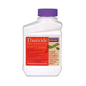 Bonide 803 Thuricide BT Insect Killer, 16-Ounce