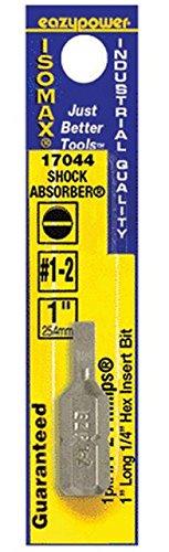Insert Isomax (Eazypower 17044 Isomax Slotted Insert Bit, #1, 1
