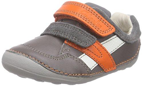 ClarksTiny Zakk - zapatillas de running Bebé-Niños Gris (Grey Combi)
